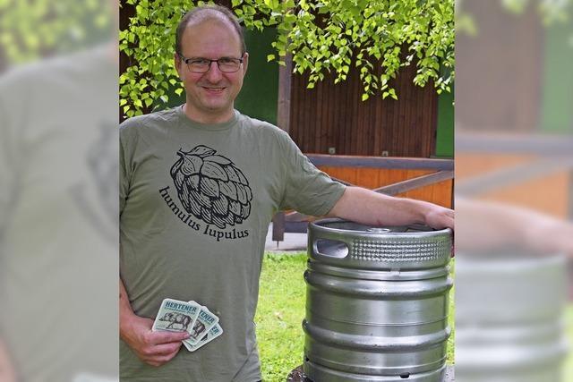 Das Bier für den Hertener Herbst braut ein Profi