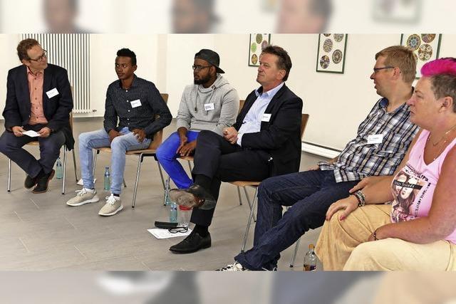 Integrationsminister Luch war zu Besuch in Bonndorf