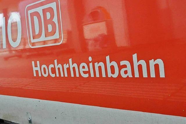 Hochrheinbahn könnte 2025 elektrisch betrieben werden