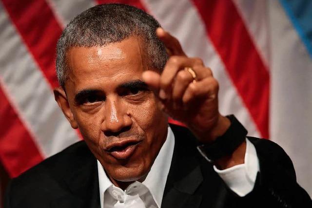 Obama ergreift Partei für die Dreamer