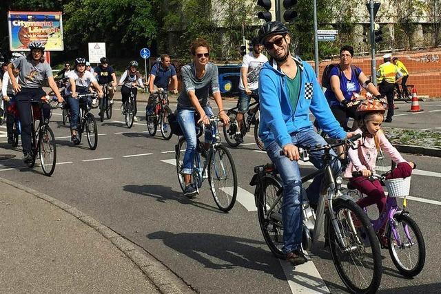 Der Slow-up Basel-Dreiland führt erstmals durch Lörrach
