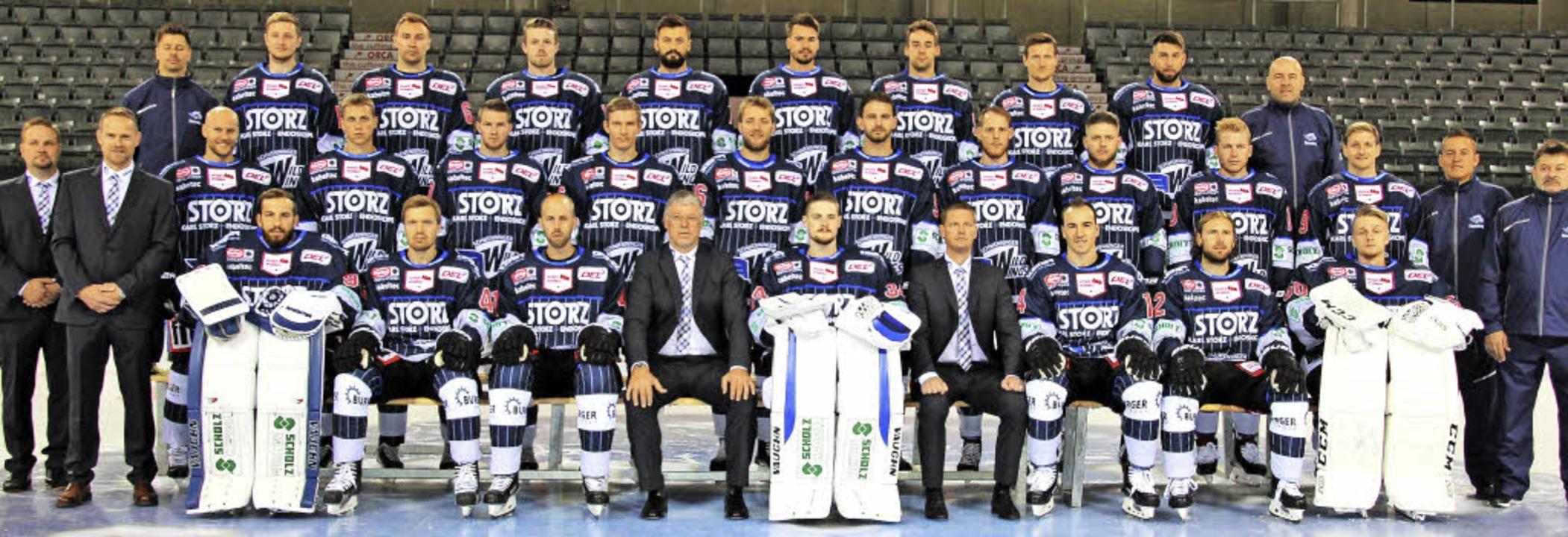 Breiter Kader: Trainer Pat Cortina hat... Qual der Wahl  zwischen 24 Spielern.   | Foto: wittmann