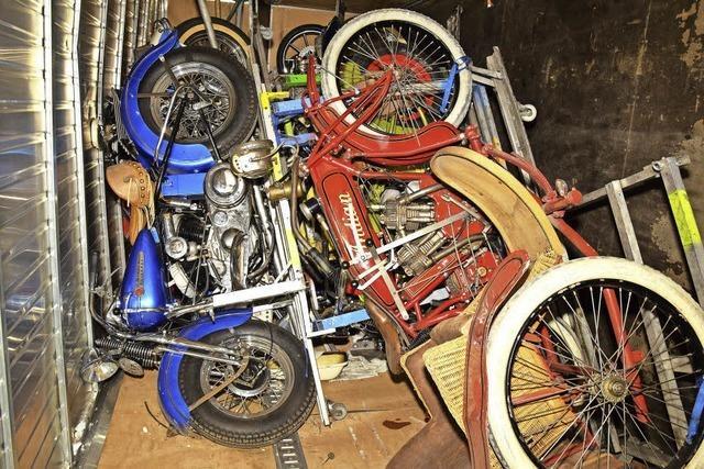 Motorrad-Oldies kreuz und quer