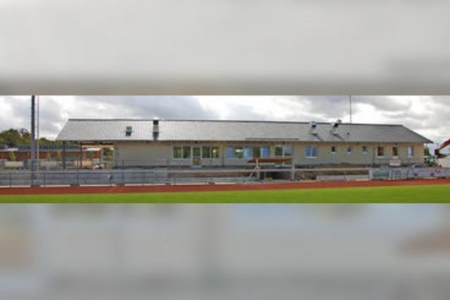 Sportgaststätte öffnet am 1. Oktober