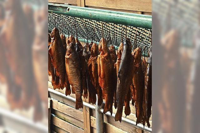 Fischer feiern ein Fest