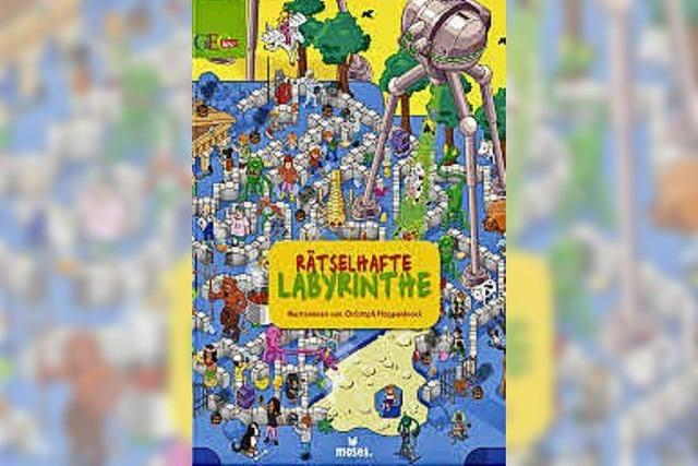 Christoph Hoppenbrock: Rätselhafte Labyrinthe