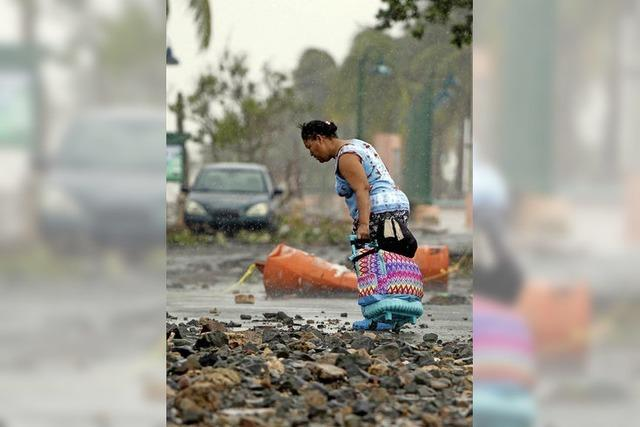 Irma wütet in der Karibik