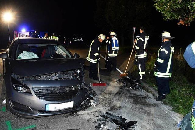 Audifahrer wird bei Unfall bei Kürzell schwer verletzt