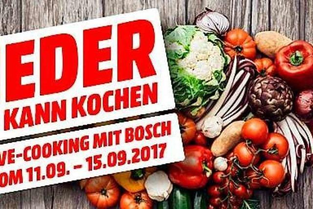 Media Markt Freiburg präsentiert innovativen Bosch Auto Cook Multikocher