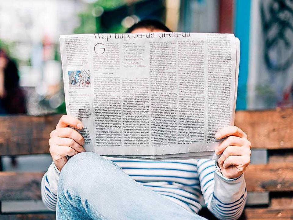 Die Zeitung ist bei deutschen immer noch beliebt (Symbolbild)  | Foto: Roman Kraft (Unsplash.com)