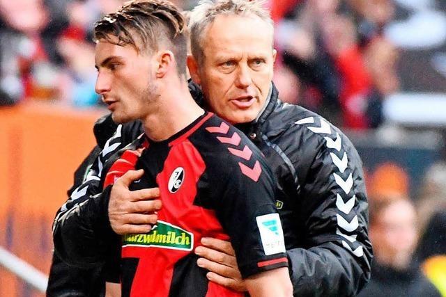 Christian Streich bereitet sich auf Wiedersehen mit Maxi Philipp vor