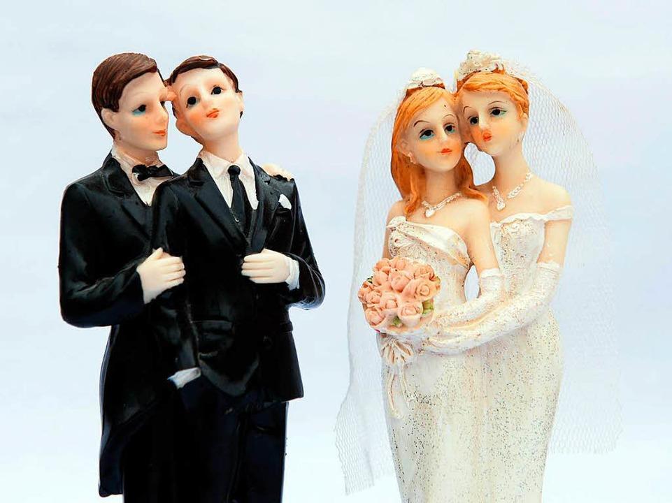 Die Ehe für alle gilt ab Oktober  | Foto: dpa