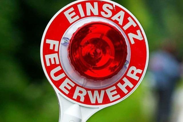 Wäschebrand sorgt für Feuerwehreinsatz in Munzingen