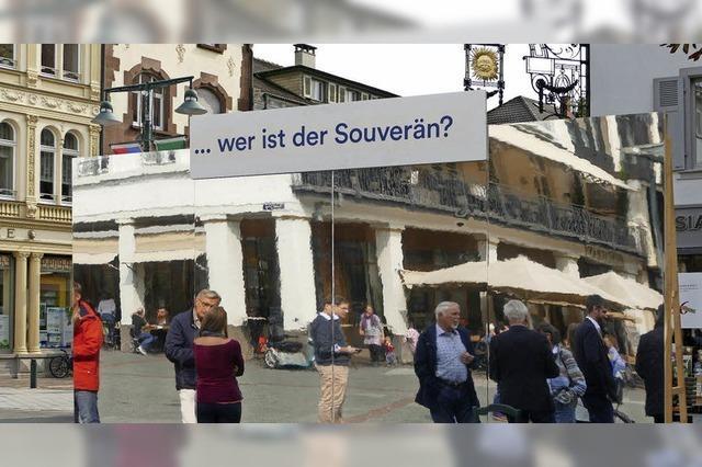 Bundestagswahl verlängert Lörracher Tag der Demokratie