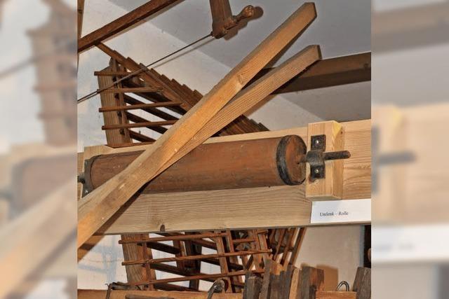 Die Umlenkrolle aus einer Stellmacherwerkstatt
