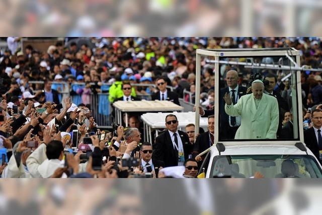 Papst Franziskus besucht Kolumbien