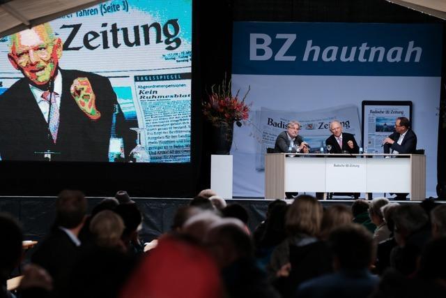 Live-Ticker zum Nachlesen: Spitzenpolitiker zu Gast beim BZ-Wahltag