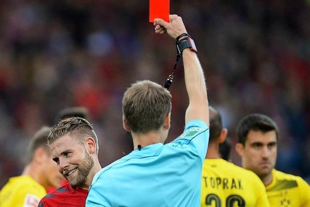 SC Freiburg erkämpft gegen Dortmund ein Unentschieden