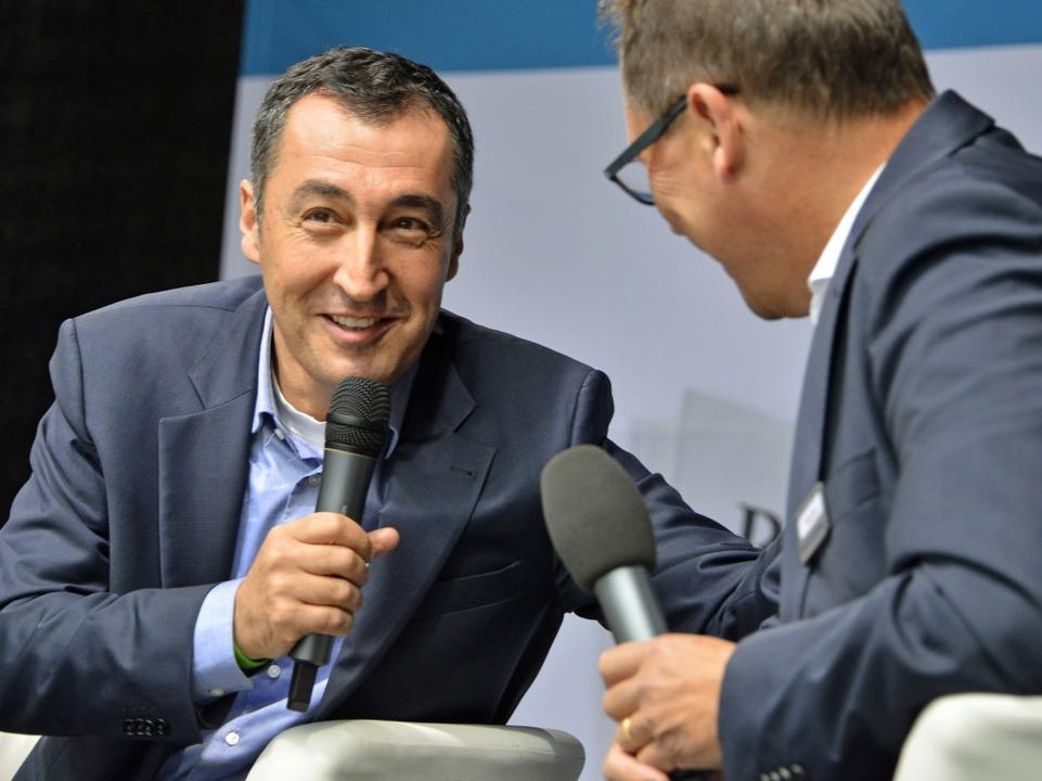 Cem Özdemir beim BZ-Talk  | Foto: Michael Bamberger