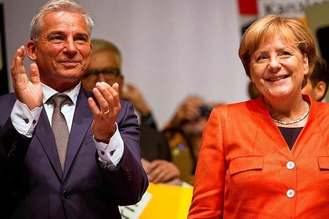 CDU-Vorsitzender Thomas Strobl mit geringerer Zustimmung wiedergewählt