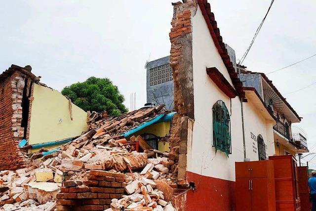 Nach dem Erdbeben in Mexiko steigt die Opferzahl auf 90