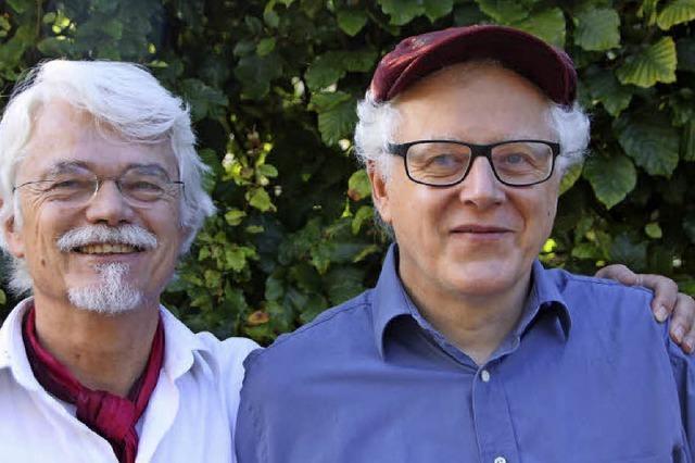 Uli Führe und Manfred Jung in Hinterzarten