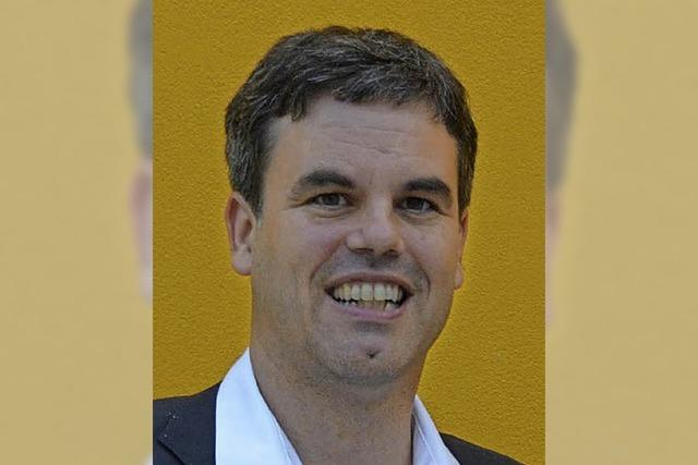 LGS-Macher: Tobias de Haen, Geschäftsführer der Gartenschau-GmbH