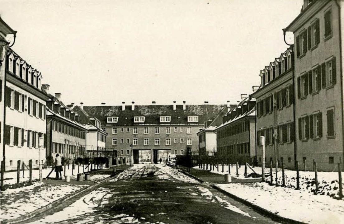 Verborgen hinter nüchternen Fassaden: ... auf einem um 1930 entstandenen Bild.   | Foto: Stadtarchiv