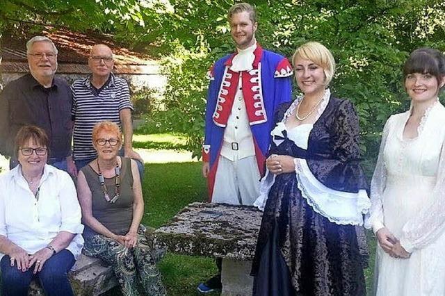 Proben in Lothringen