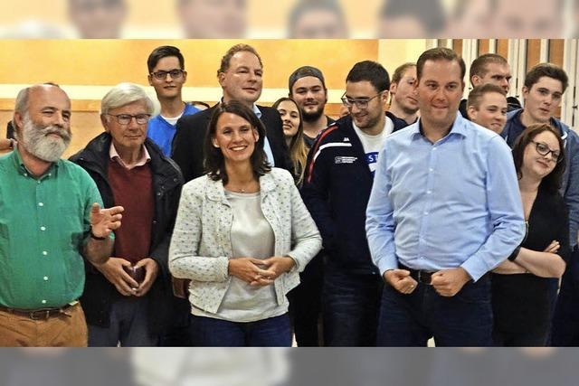 Fünf Kandidaten beim Parteiencheck