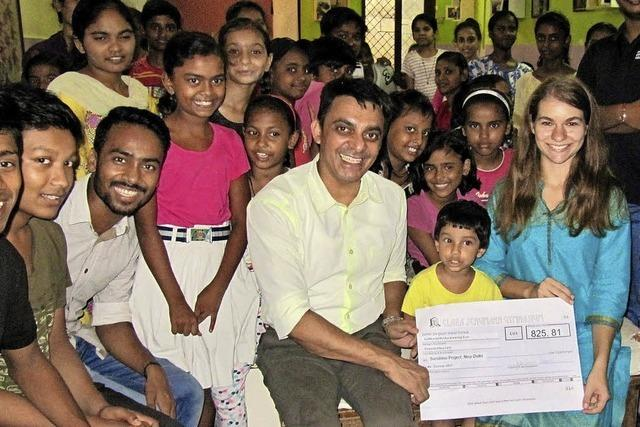 Der Kulturmarathon hilft Straßenkindern in Indien