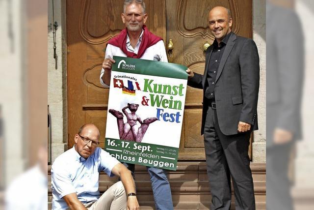 Schloss Beuggen öffnet sich für Kunst und Wein