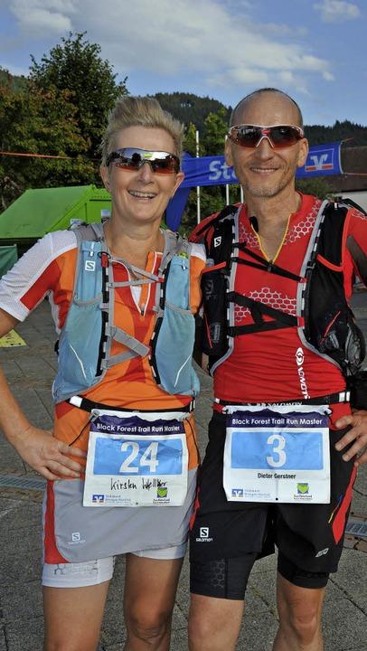 Teilnehmer verschiedener Nationen und ...f das Lauferlebnis im Simonswäldertal.  | Foto: Horst Dauenhauer