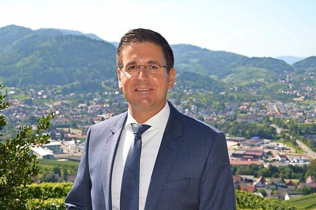 Stefan Hattenbach als Bürgermeister von Kappelrodeck klar bestätigt