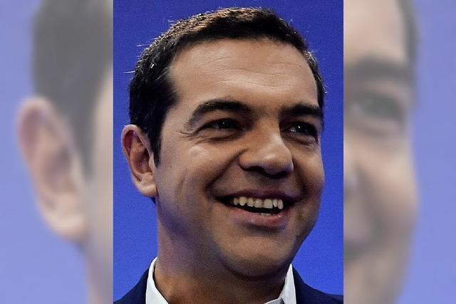 Premier Tsipras verkündet Aufschwung nach der Krise