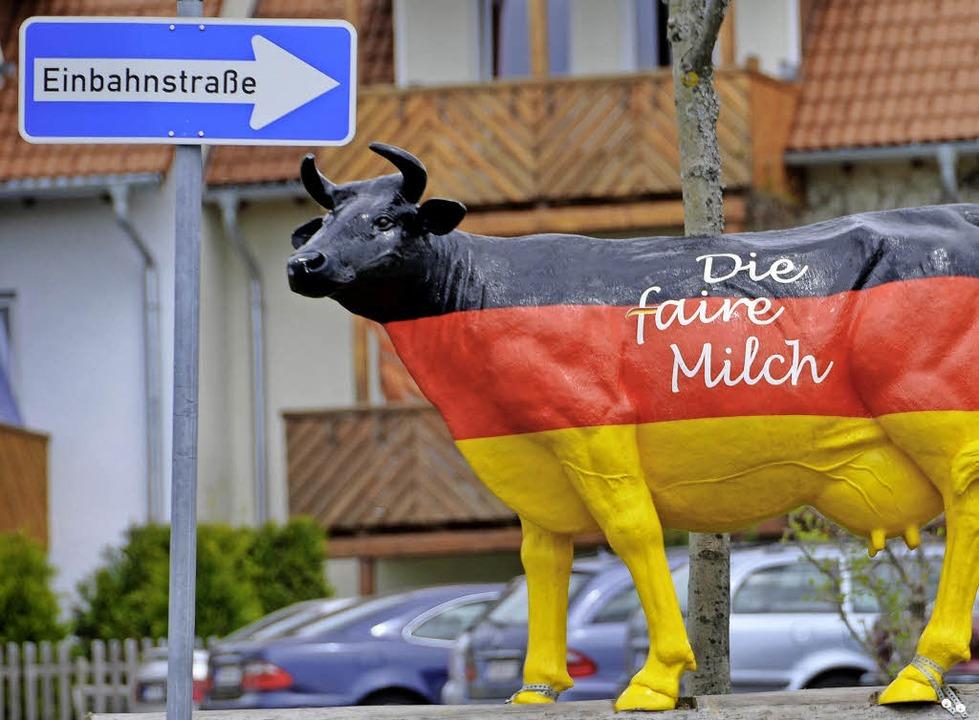 Soll keine Einbahnstraße sein: Um Milchwirtschaft ging es in Hausach-Einbach.  | Foto: Schneider