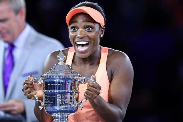 Sloane Stephens gewinnt überraschend die US Open