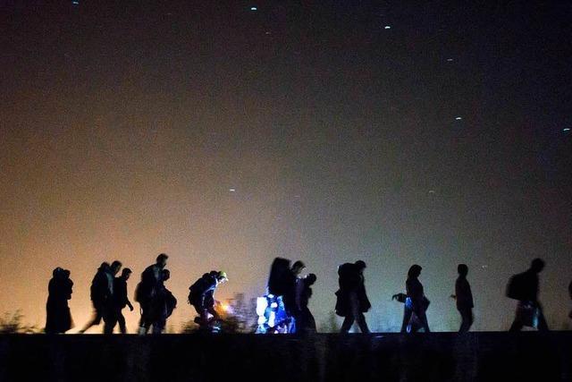 Balkanroute: So ist die Lage der gestrandeten Flüchtlinge