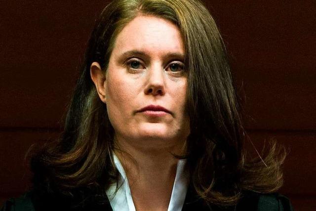 37-jährige Richterin Schenk beweist Souveränität