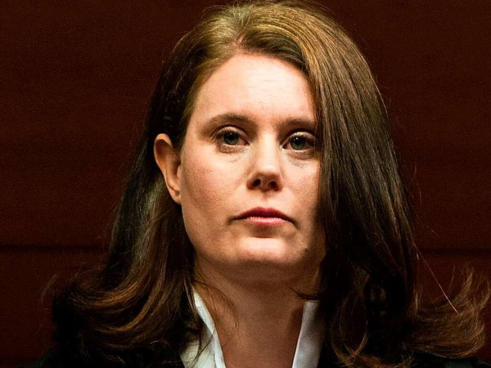 Richterin Kathrin Schenk  | Foto: dpa
