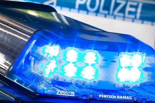 Autofahrer in Lörrach bei Unfall leicht verletzt