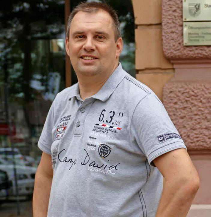 Bürgermeisterkandidat Bernd Dosch   | Foto: Lena Marie Jörger