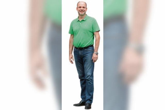 Markus Rasp (Bündnis 90/Grüne) im Wahlkreis 283 Lahr-Emmendingen