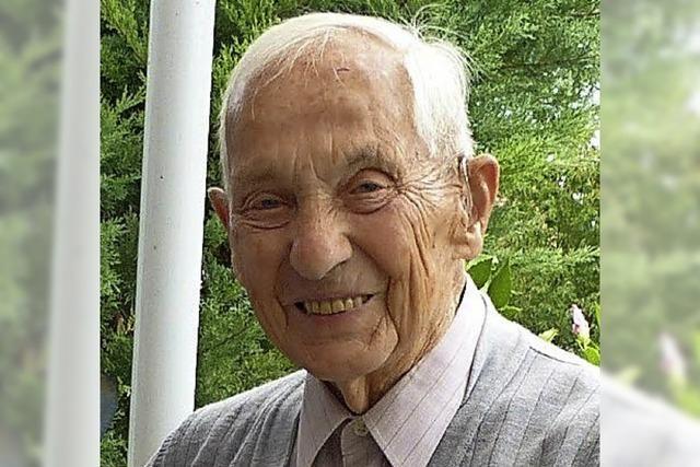 Großer Besuch zum 90. Geburtstag