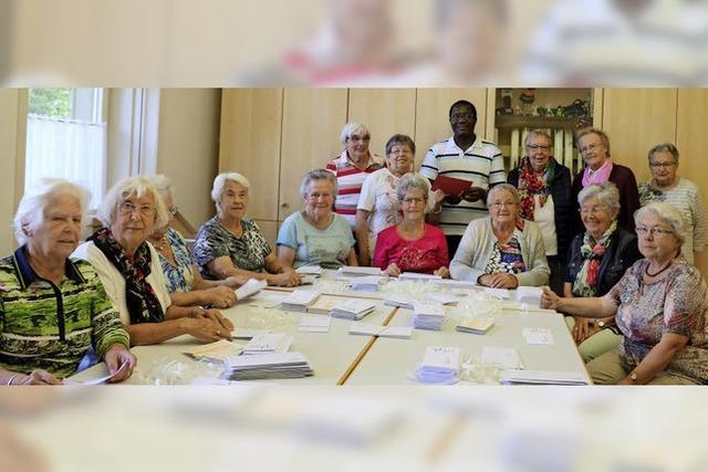 Frauen unterstützen Kirchenbauprojekt