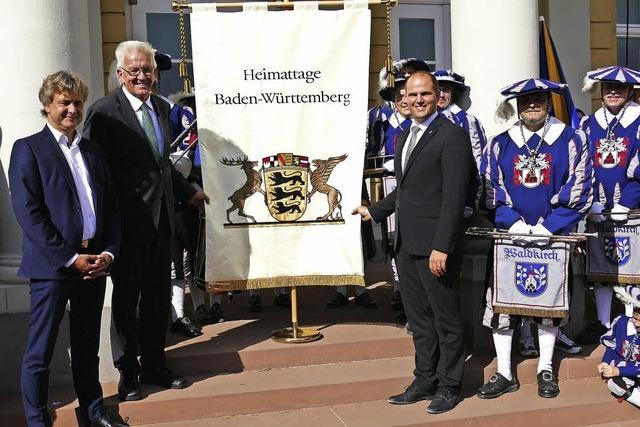 Heimattage-Fahne wechselt Besitzer