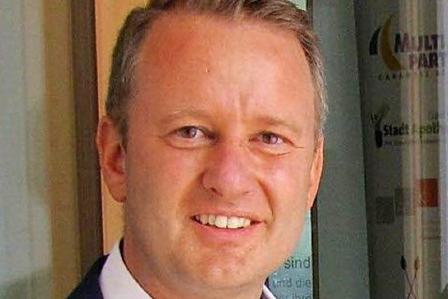 Pascal Weber ist einziger Bewerber für die Bürgermeisterwahl in Ringsheim