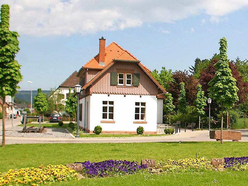 Das ehemalige Bahnhöfle in Seelbach  | Foto: Heidi Foessel
