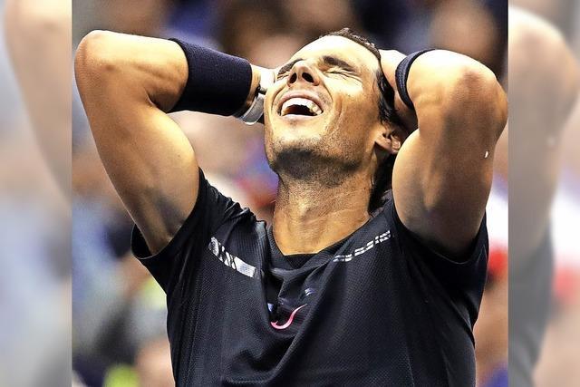 Nadal setzt ein Ausrufezeichen