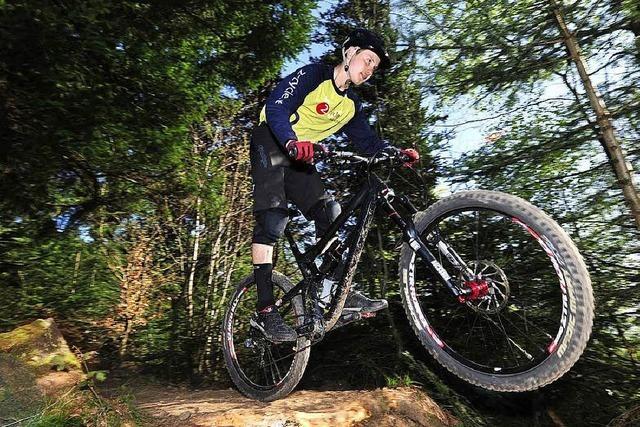 Neue Strecke für Mountainbiker im Stadtwald
